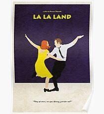 La La Land Alternative Minimalist Poster Poster