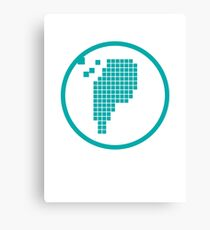 Digital Meat Logo Canvas Print