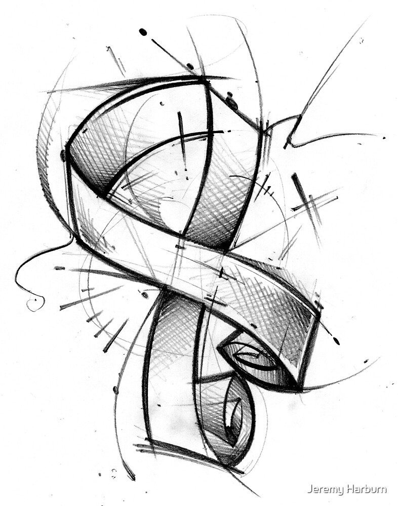 Awareness Ribbon by Jeremy Harburn