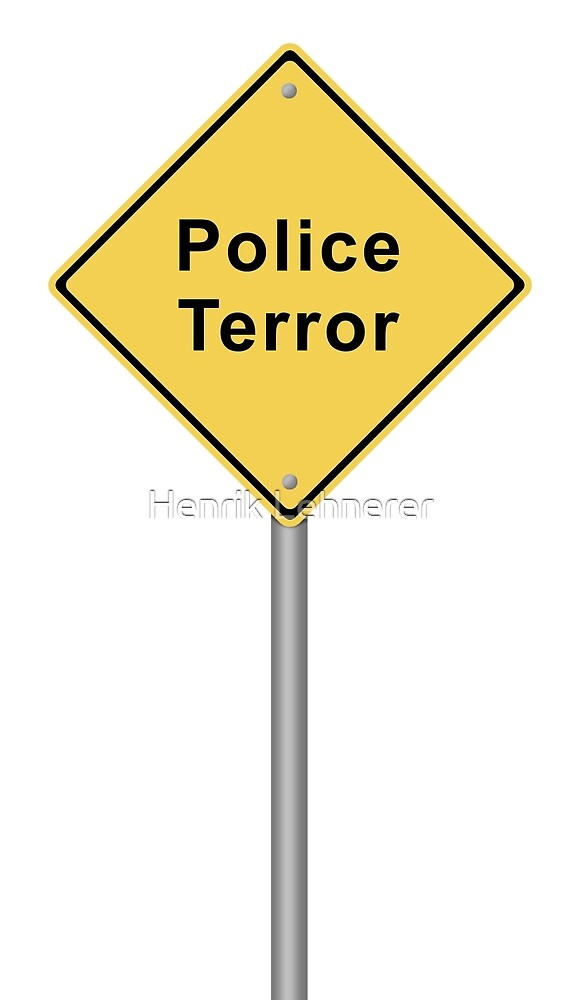 Police Terror by Henrik Lehnerer