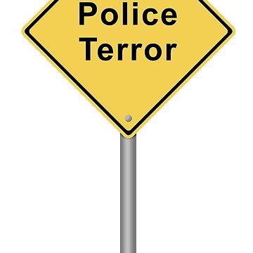 Police Terror by hlehnerer