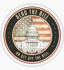 Read The Bill Sticker
