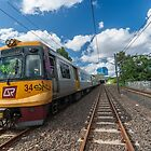 Toowong Rail Line by MichaelJP