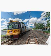 Toowong Rail Line Poster