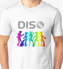 Funny Disco Lover T-Shirt Colorful 70s 80s Unisex T-Shirt