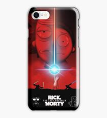 Rick and Morty Star Wars Meeseeks Vader The Last Jedi iPhone Case/Skin