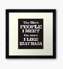 KRAV MAGA  Framed Print