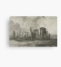 Stonehenge prehistoric monument, England Canvas Print