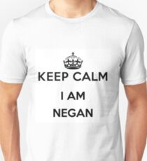 Keep Calm I AM NEGAN Unisex T-Shirt