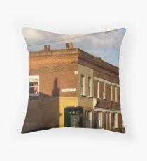 Moravian Street Throw Pillow