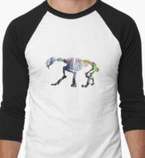 Smilodon Skeleton Men's Baseball ¾ T-Shirt