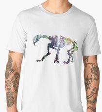 Smilodon Skeleton Men's Premium T-Shirt