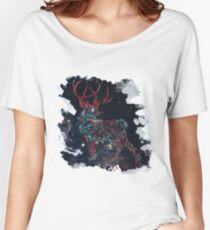 Celestial Deer Women's Relaxed Fit T-Shirt