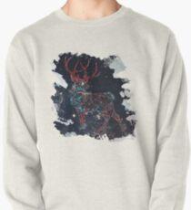 Celestial Deer Pullover Sweatshirt
