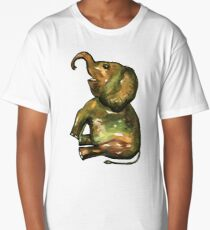 Baby Elephant 3 Long T-Shirt