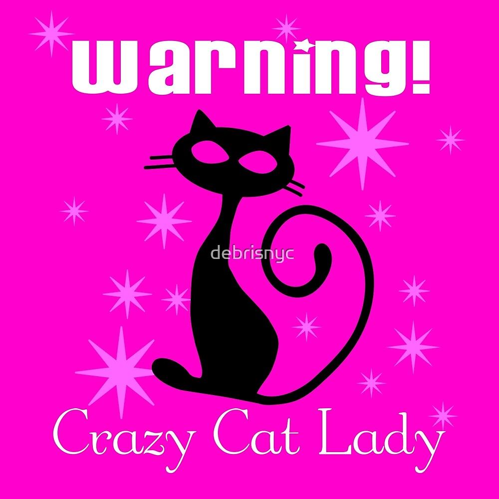 crazy cat lady by debrisnyc