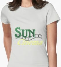 Sun Cinema Womens Fitted T-Shirt