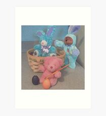 Easter With Friends....  Art Print