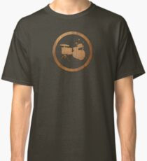Drums Wood Ring Classic T-Shirt
