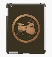Drums Wood Ring iPad Case/Skin
