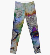 Weltkarte Leggings