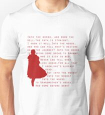 Into The Woods: Little Red Riding Hood  Unisex T-Shirt