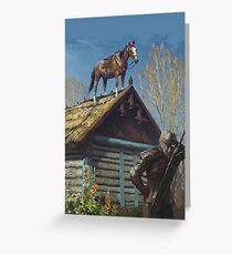 The Witcher - Roach Greeting Card