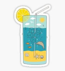 summer drink Sticker