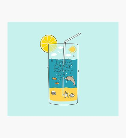 summer drink Photographic Print