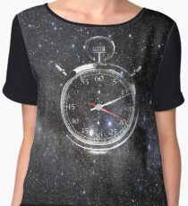 Time and Space Chiffon Top