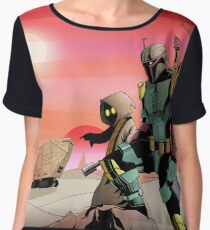 Jawas Outpost Chiffon Top