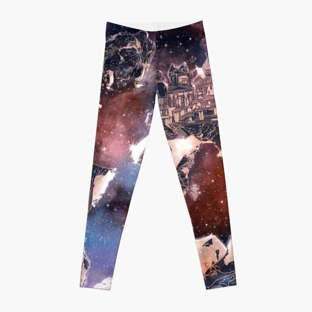 Weltkarte Leggings