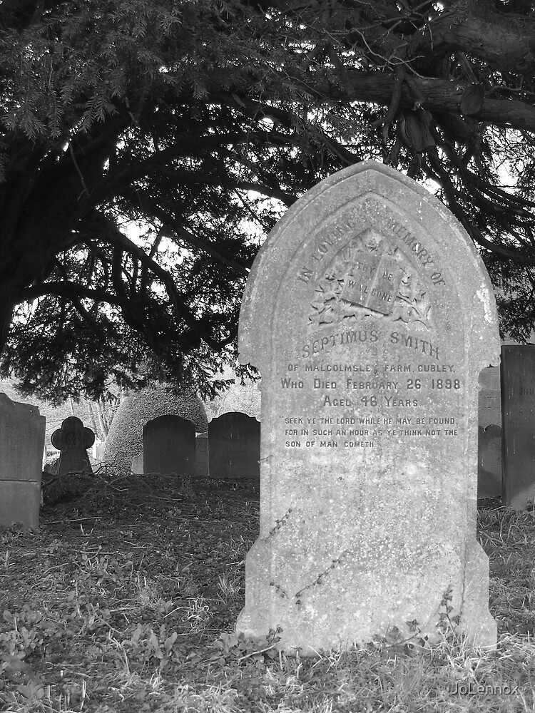 Grave Stones I by JoLennox