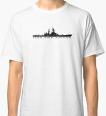 USS Arkansas CGN-41 distressed graphic Classic T-Shirt