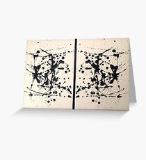 Diptych Greeting Card