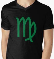 Virgo Sign Men's V-Neck T-Shirt