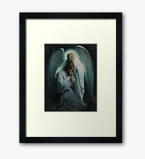 Agony In The Garden by Frans Schwartz, 1898 Framed Print