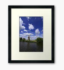 Windmill on The Norfolk Broads Framed Print