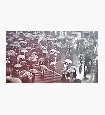 Rainy day in Shibuya Photographic Print