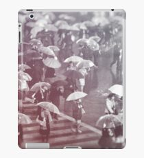 Rainy day in Shibuya iPad Case/Skin