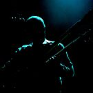 Bass Player by Paul Reay