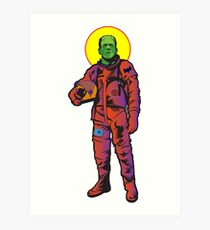 Frankie Goes to The Moon Art Print