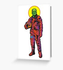 Frankie Goes to The Moon Greeting Card