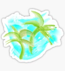 Tropical Abstract_Oceans Sticker