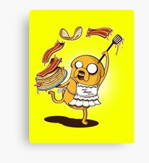 MAKIN' BACON PANCAKES Canvas Print