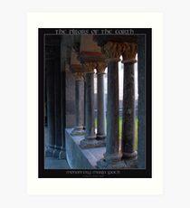 The Pillars of the Earth Art Print