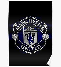 manchester united best logo Poster