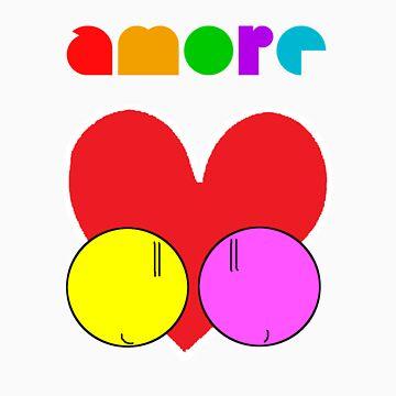 amorissimo=veryVeryLove!=) by JustFrAnkie