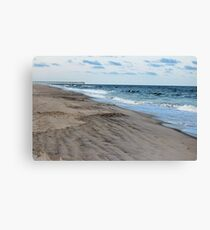 Carolina Beach In August Canvas Print