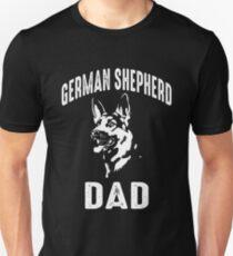 German Shepherd Dad T Shirt Unisex T-Shirt